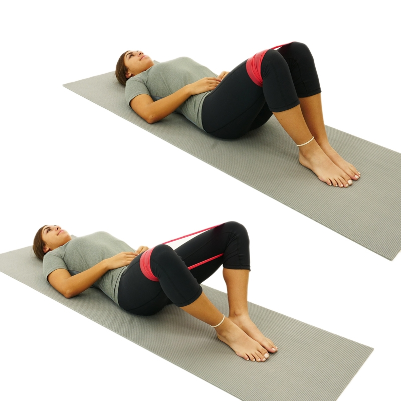 supine hook lying head lifts To do the hook-lying combo, start by lying on your back with your knees bent squeezing your stomach muscles, lift both your right arm and your left leg the supine sciatic and tibial glides exercises stretch your hamstrings and your ankles.
