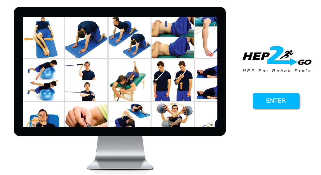 HEP2go - Online Home Exercise Program - Rehab - Physical